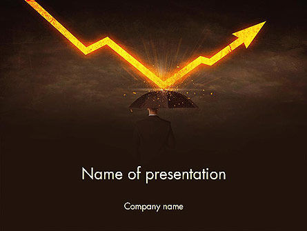 Business Risk PowerPoint Template, 13887, Consulting — PoweredTemplate.com