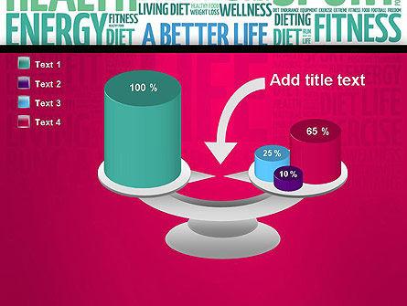 A Better Life Word Cloud PowerPoint Template Slide 10