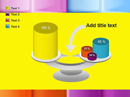Multicolored Tiles PowerPoint Template Slide 10