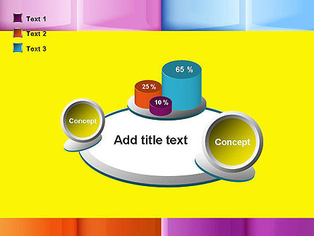 Multicolored Tiles PowerPoint Template Slide 16