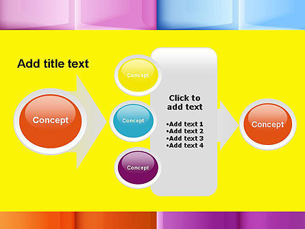 Multicolored Tiles PowerPoint Template Slide 17