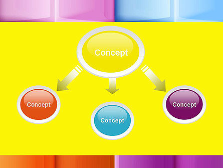 Multicolored Tiles PowerPoint Template Slide 4