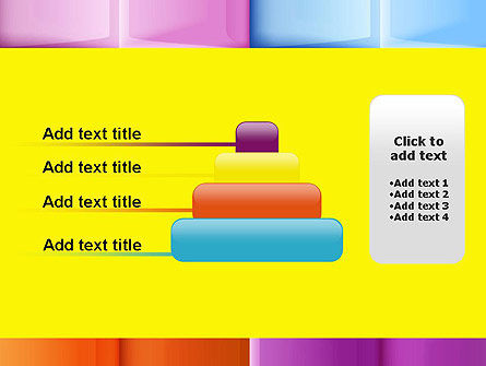 Multicolored Tiles PowerPoint Template Slide 8