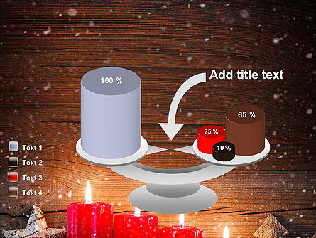 Christmas Candlelight PowerPoint Template Slide 10