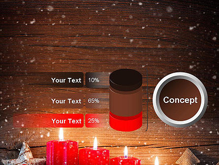 Christmas Candlelight PowerPoint Template Slide 11