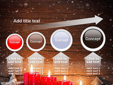 Christmas Candlelight PowerPoint Template Slide 13