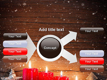 Christmas Candlelight PowerPoint Template Slide 14