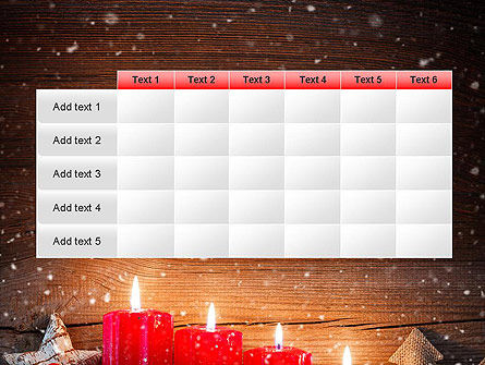 Christmas Candlelight PowerPoint Template Slide 15