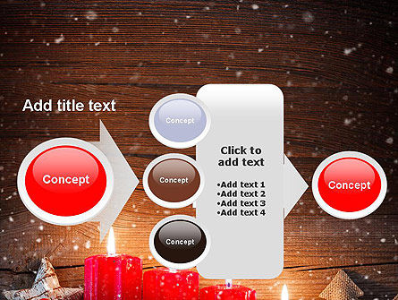 Christmas Candlelight PowerPoint Template Slide 17
