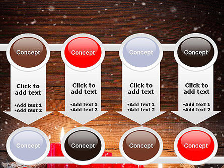 Christmas Candlelight PowerPoint Template Slide 18