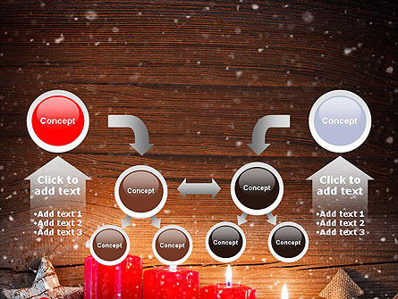 Christmas Candlelight PowerPoint Template Slide 19
