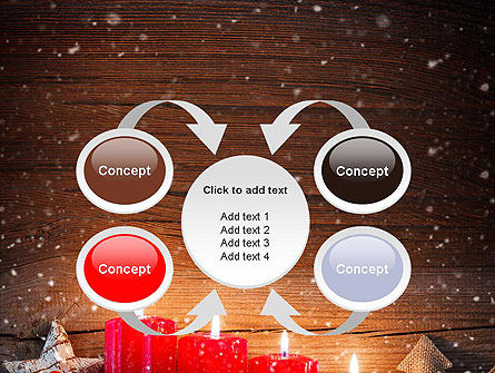 Christmas Candlelight PowerPoint Template Slide 6