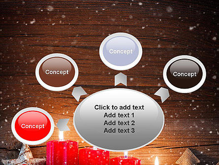 Christmas Candlelight PowerPoint Template Slide 7