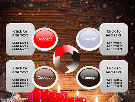 Christmas Candlelight PowerPoint Template Slide 9