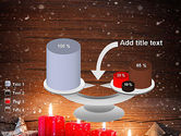 Christmas Candlelight PowerPoint Template#10