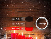 Christmas Candlelight PowerPoint Template#11