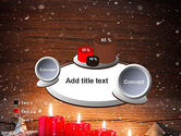 Christmas Candlelight PowerPoint Template#16