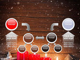 Christmas Candlelight PowerPoint Template#19