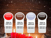 Christmas Candlelight PowerPoint Template#5