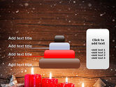 Christmas Candlelight PowerPoint Template#8