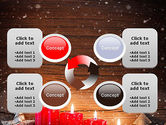 Christmas Candlelight PowerPoint Template#9