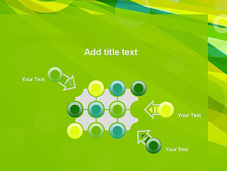 Green Mood Abstract PowerPoint Template Slide 10
