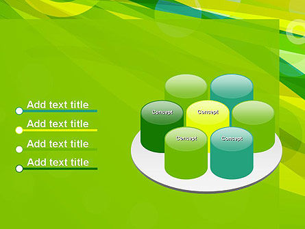 Green Mood Abstract PowerPoint Template Slide 12