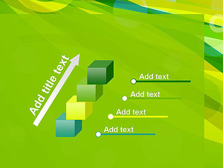 Green Mood Abstract PowerPoint Template Slide 14