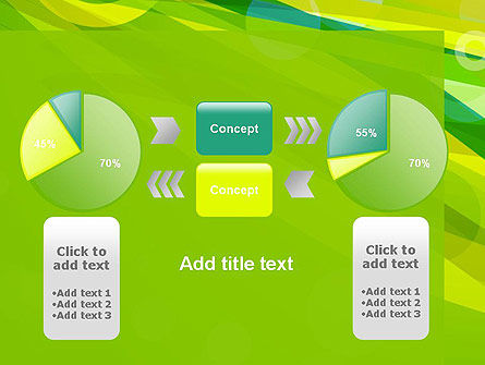 Green Mood Abstract PowerPoint Template Slide 16