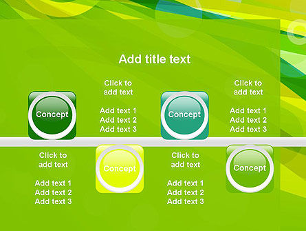 Green Mood Abstract PowerPoint Template Slide 18