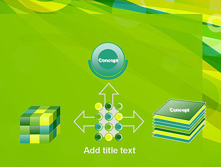 Green Mood Abstract PowerPoint Template Slide 19