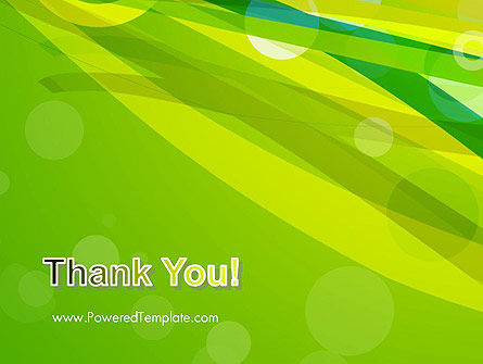 Green Mood Abstract PowerPoint Template Slide 20