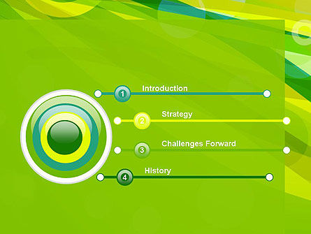 Green Mood Abstract PowerPoint Template Slide 3