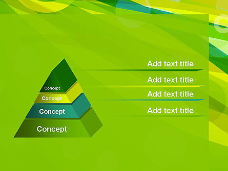 Green Mood Abstract PowerPoint Template Slide 4