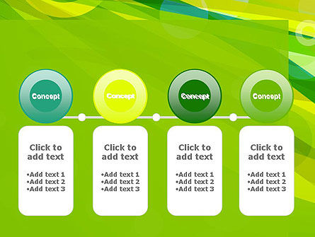 Green Mood Abstract PowerPoint Template Slide 5