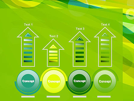 Green Mood Abstract PowerPoint Template Slide 7