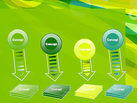 Green Mood Abstract PowerPoint Template Slide 8