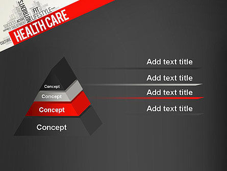 Health Care Word Cloud PowerPoint Template Slide 12