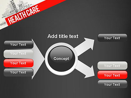 Health Care Word Cloud PowerPoint Template Slide 14