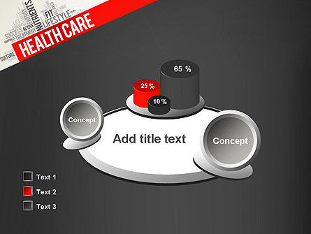 Health Care Word Cloud PowerPoint Template Slide 16