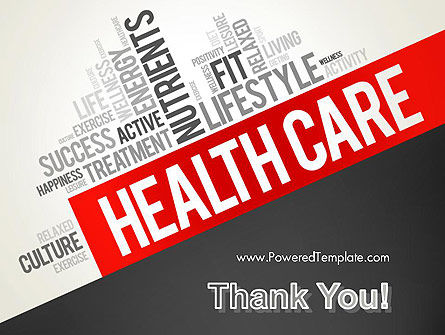 Health Care Word Cloud PowerPoint Template Slide 20