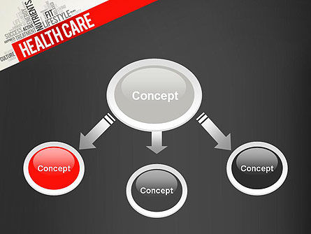 Health Care Word Cloud PowerPoint Template Slide 4