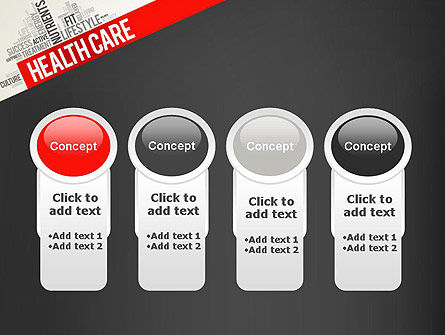 Health Care Word Cloud PowerPoint Template Slide 5