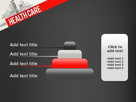 Health Care Word Cloud PowerPoint Template Slide 8