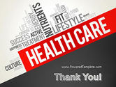 Health Care Word Cloud PowerPoint Template#20