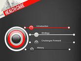 Health Care Word Cloud PowerPoint Template#3