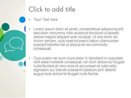 Descriptive Circles PowerPoint Template, Slide 3, 13897, Business — PoweredTemplate.com