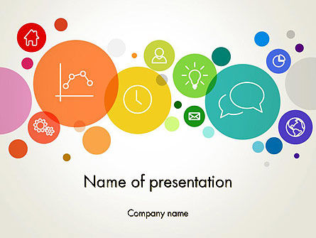 Descriptive Circles PowerPoint Template