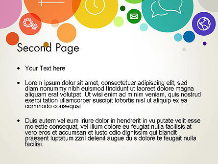 Descriptive Circles PowerPoint Template Slide 2