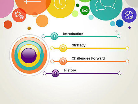 Descriptive Circles PowerPoint Template Slide 3